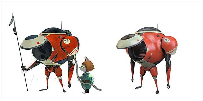 Concept Robot Art