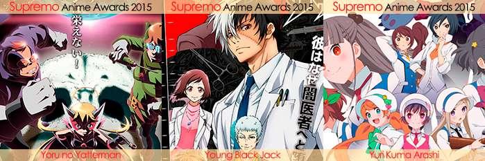 Eliminatorias Nominados a Mejor Anime de Drama 2015