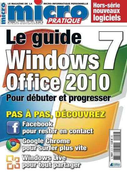 Micro Pratique Hors-Série 22 - le guide de windows