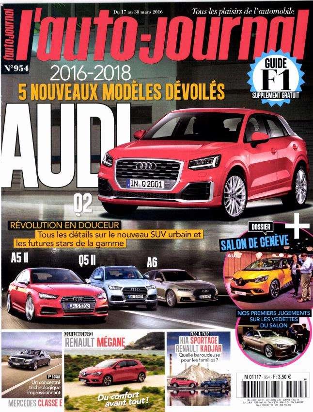 L'Auto-Journal 954 - 17 au 30 Mars 2016