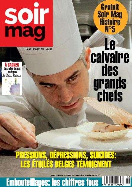 Le Soir magazine - 24 Fevrier 2016