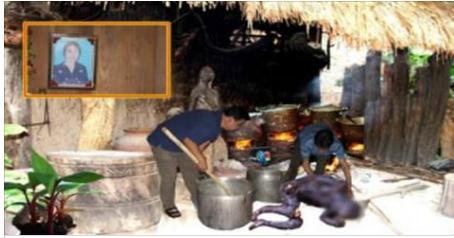 Phú Thọ: Xôn xao vụ việc nấu nhầm xác người thành cao, cả làng đến mang về chia nhau dùng!