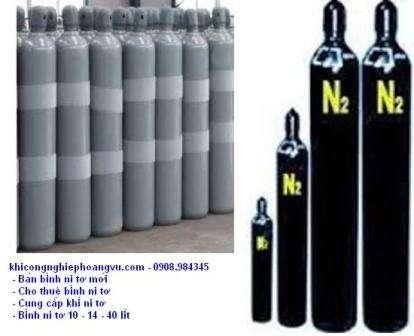 Bán khí ni tơ,đổi khí ni tơ,cho thuê bình khí ni tơ