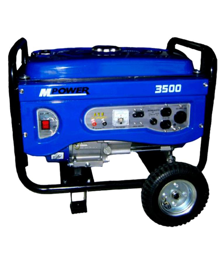 Generador Gasolina Mpower 3500w 6.5hp 110-220 V