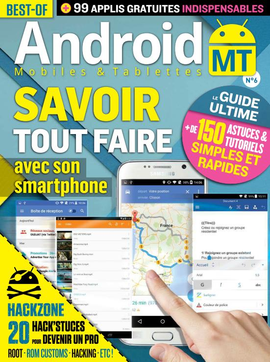 Best of Android Mobiles & Tablettes - Septembre-Novembre 2015
