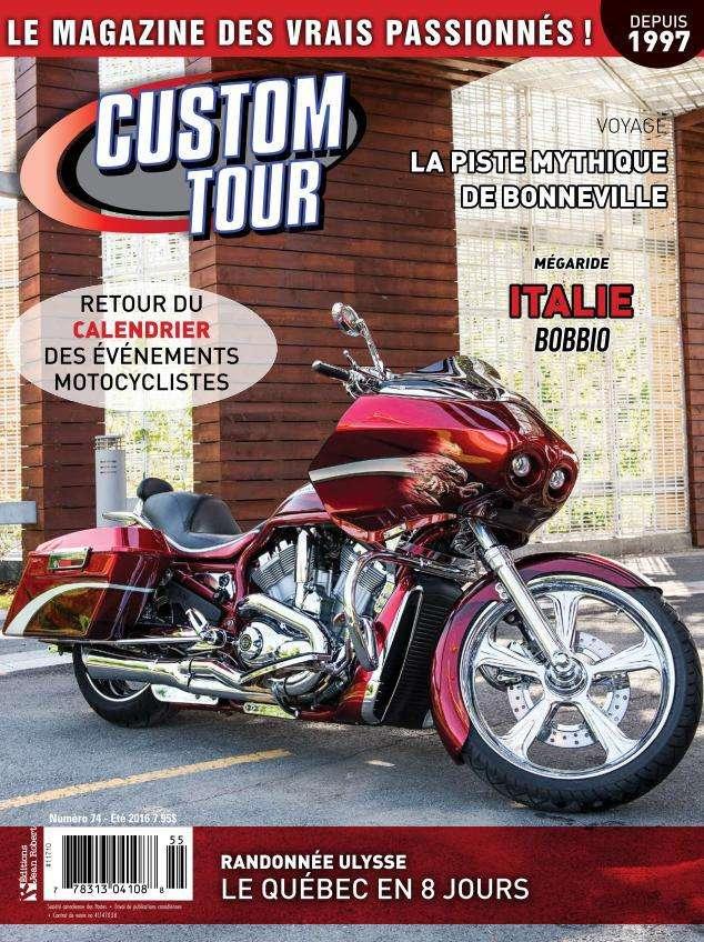 Custom Tour - Été 2016