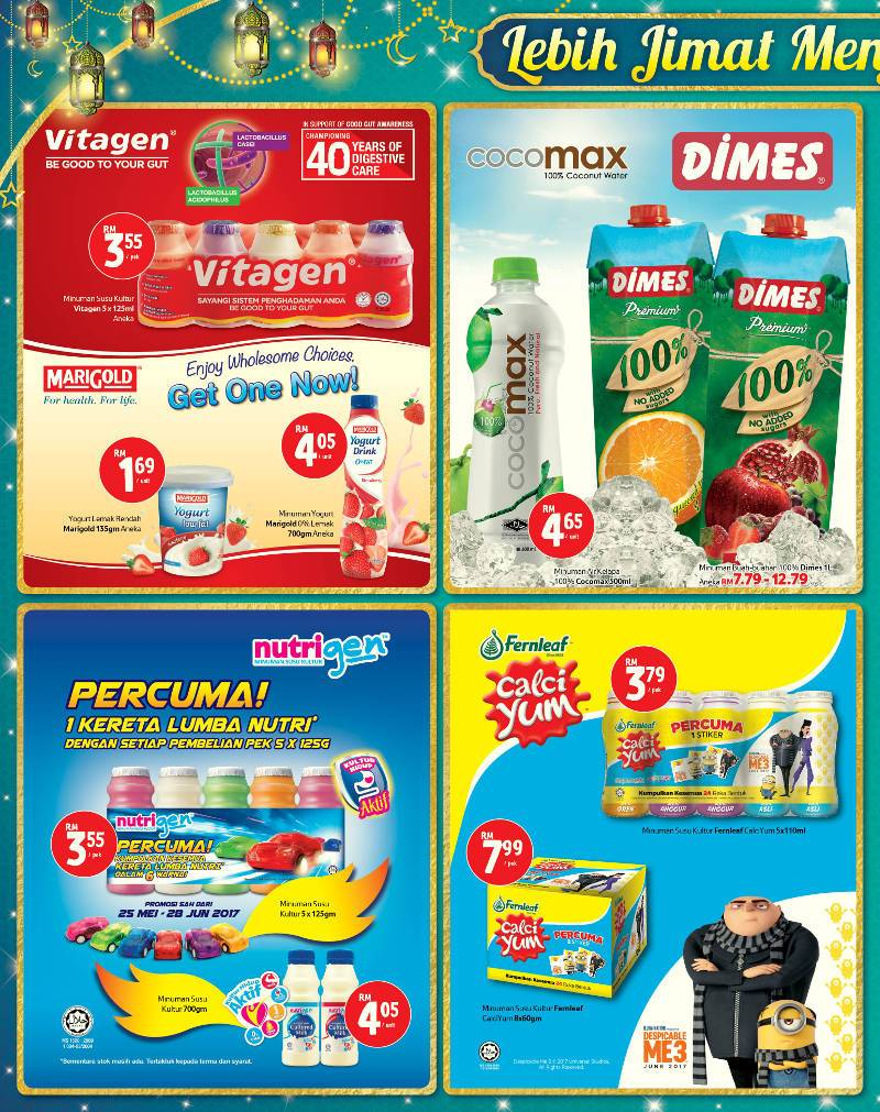 Tesco Malaysia Weekly Catalogue (25 May 2017 - 31 May 2017)
