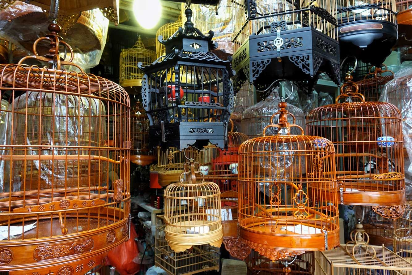 Bird Market, Hong Kong