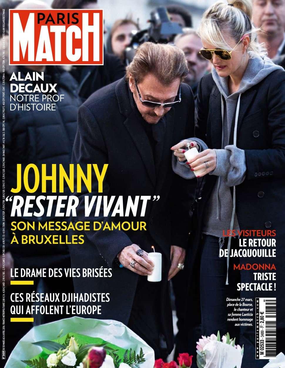 Paris Match 3489 - 30 Mars au 6 Avril 2016