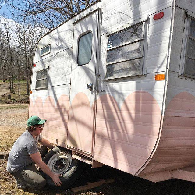 DIY Vintage Camper Trailer Renovation
