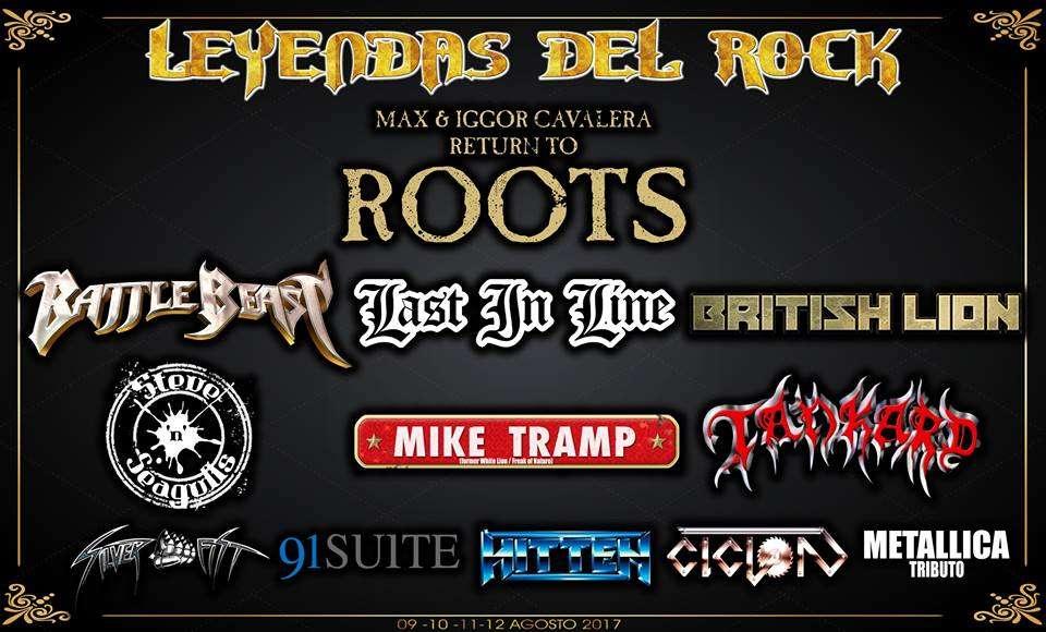 Leyendas del Rock - cartel