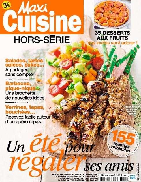 Maxi Cuisine Hors-Série - Aout-Septembre 2016