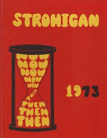 Strongsville, OH High Annual 1973 Strohigan Volume 30 HC by Linda Cross, Linda Cross