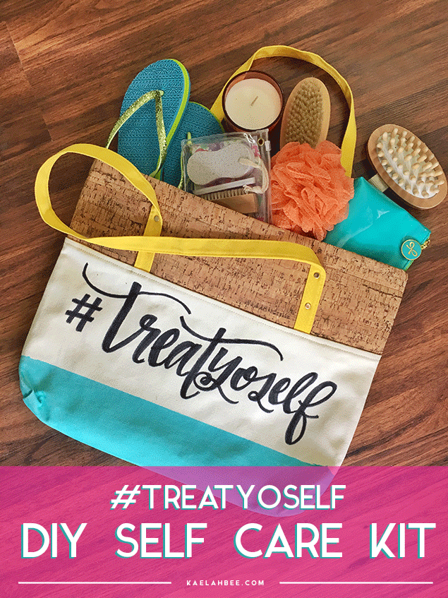 Treat Yoself Tote Bag