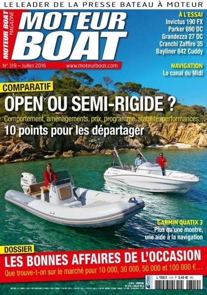 Moteur Boat Magazine 319 - Juillet 2016