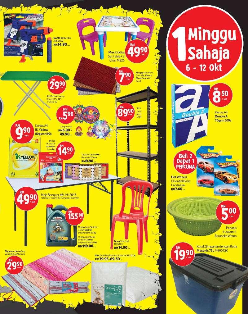 Tesco Malaysia Weekly Catalogue (6 October - 12 October 2016)