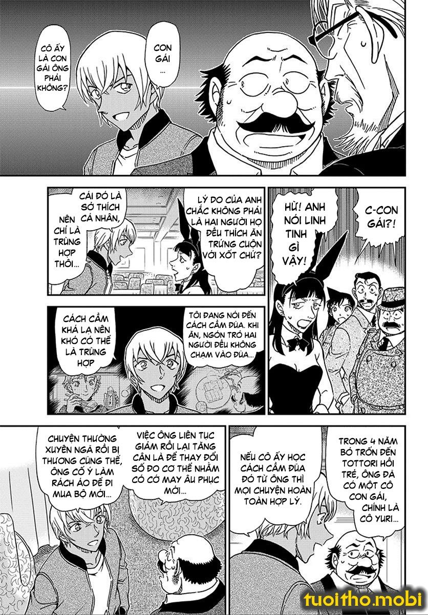Detective Conan Chap 1012 - Trang 9