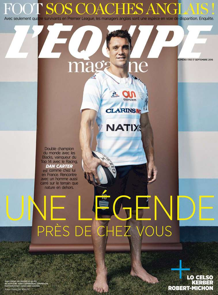 L'Equipe Magazine - 17 Septembre 2016