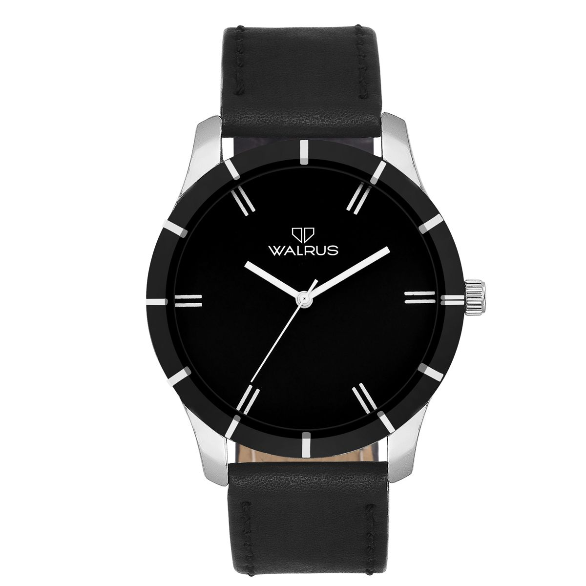 Walrus Adam Black Color Analog Men Watch -WWM-ADM-020207