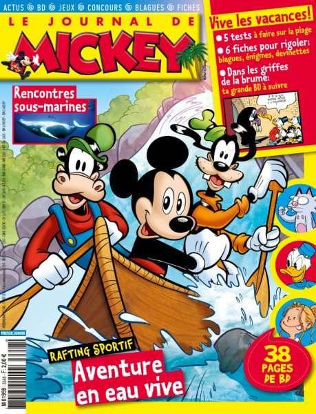 Le Journal de Mickey 3348 - 17 Août 2016