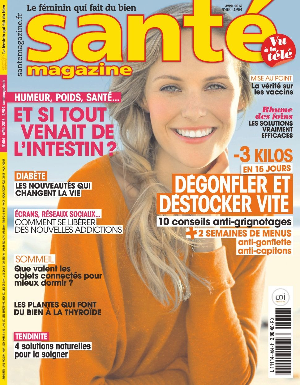 Santé magazine 484 - Avril 2016