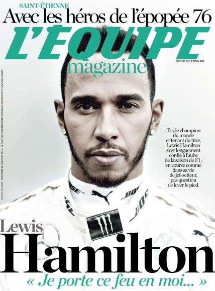 L'Équipe Magazine 1757 du samedi 19 mars 2016