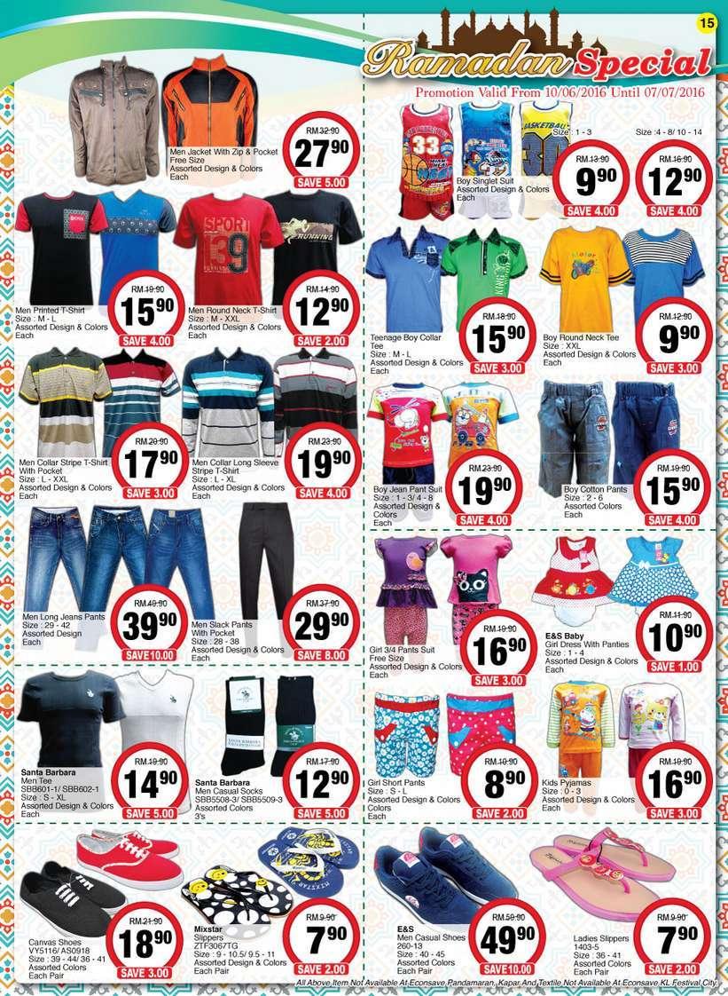 Econsave Catalogue Promotion (10 June 2016 - 22 June 2016)