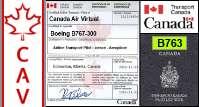 B763 Certified