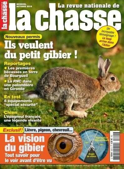 La Revue Nationale de la Chasse - Octobre 2016
