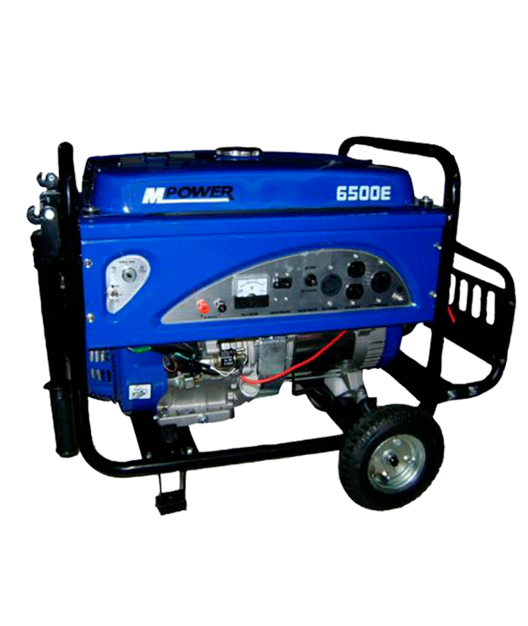 Generador Gasolina Mpower 6500w 13hp 110-220A Arranque Elect