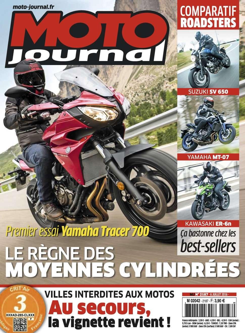 Moto Journal 2187 - 06 Juillet 2016