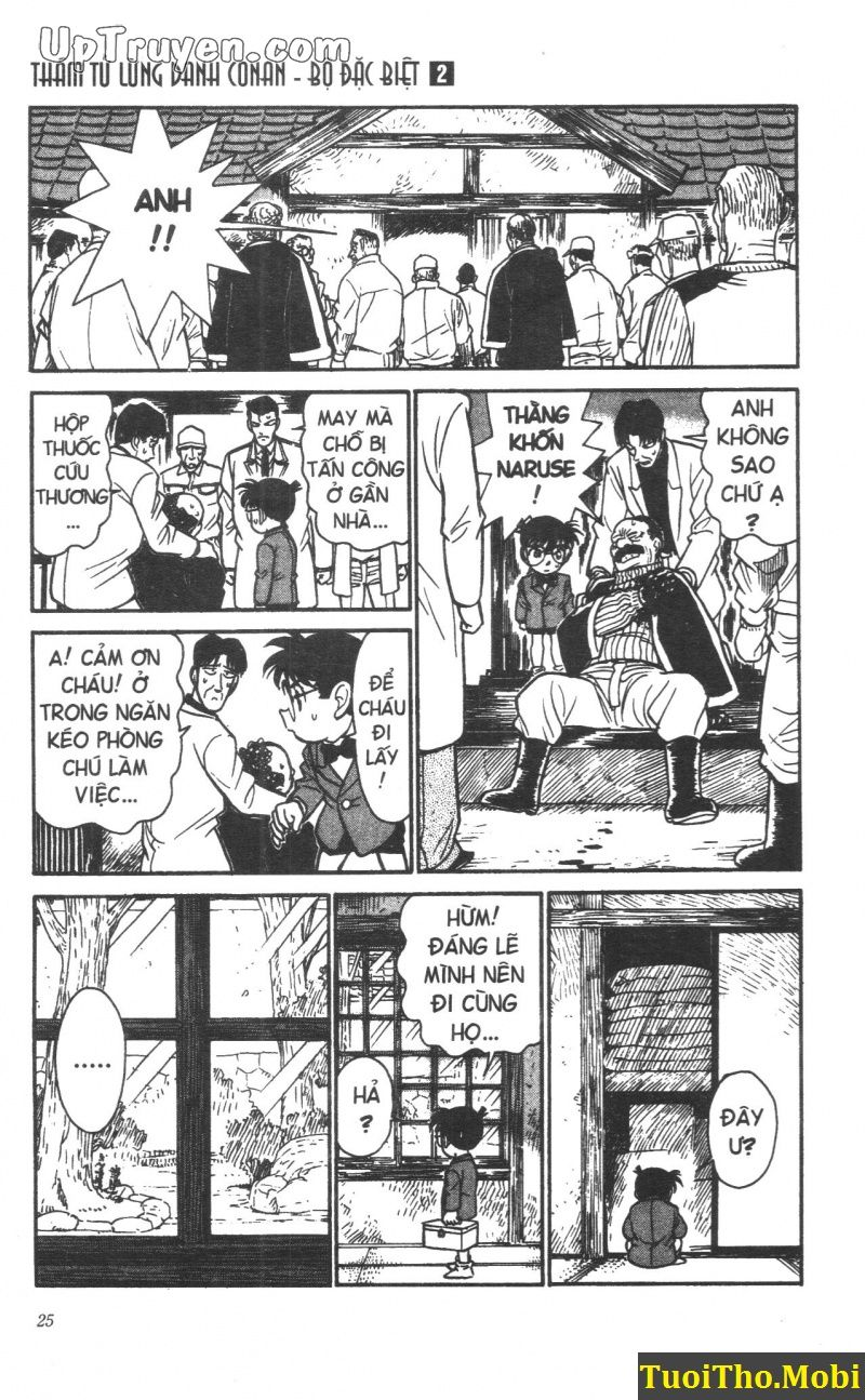 đọc truyện Conan bộ đặc biệt chap 10 trang 20