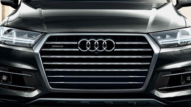 2018 Audi Q7 Singleframe Grille Design