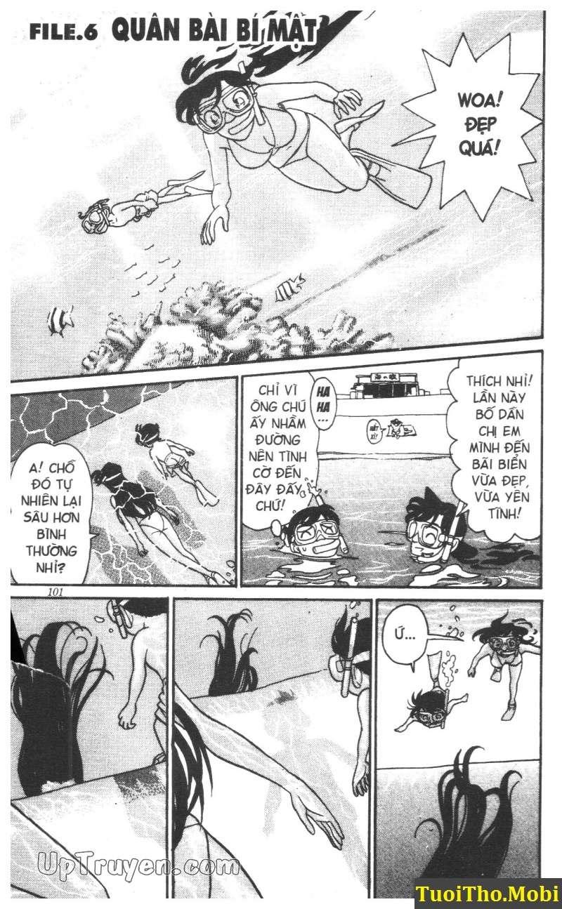 đọc truyện Conan bộ đặc biệt chap 6 trang 0