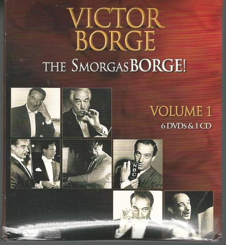 Victor Borge - The Smorgasborge! Volume 1 - 6 Dvd's & 1 Cd