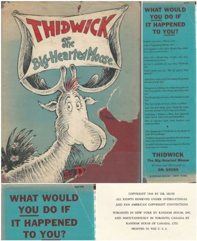 Thidwick the Big-Hearted Moose (Classic Seuss), Dr. Seuss