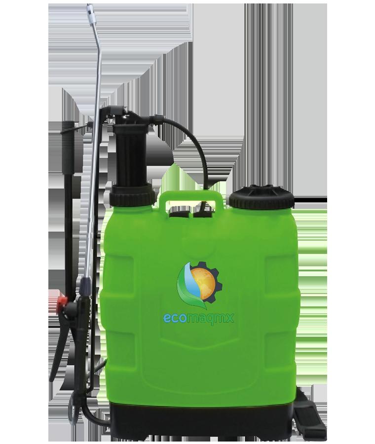Aspersora Bomba Fumigadora Manual Ecomaqmx 20lt Reforzada