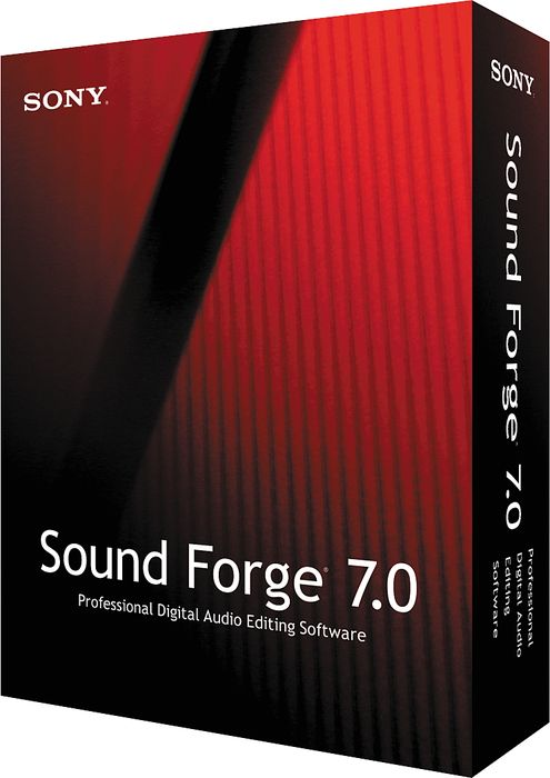 برنامج الصوتيات الشهير  Sound forge 7 0