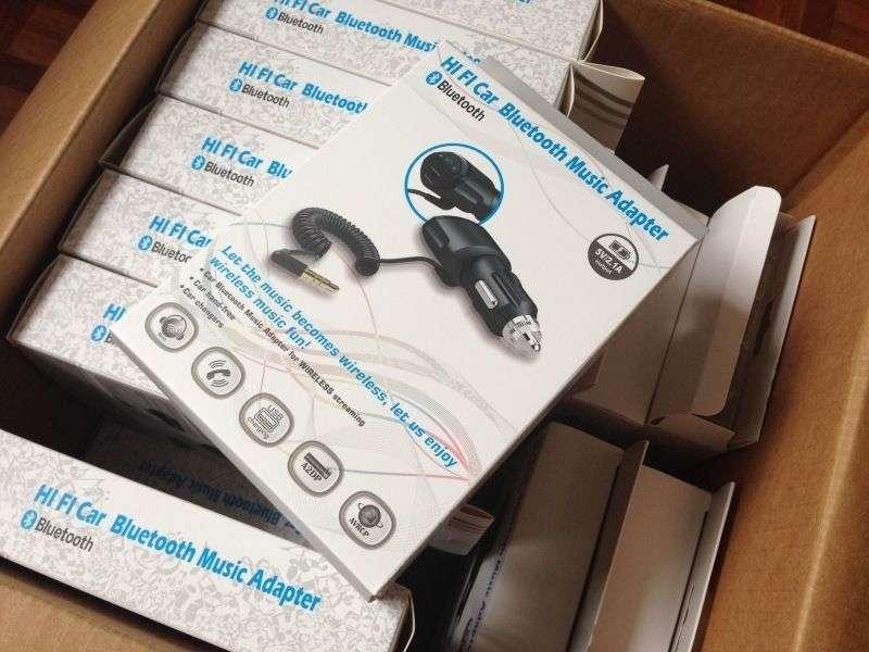 A2dp 3 5mm Car Handsfree Bluetooth Aux Stereo Audio
