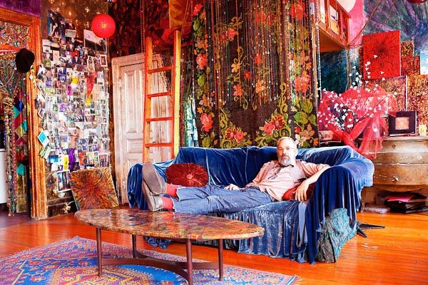 "Gerald Decock""s Colourful Hippie Heaven New York Chelsea Hotel"
