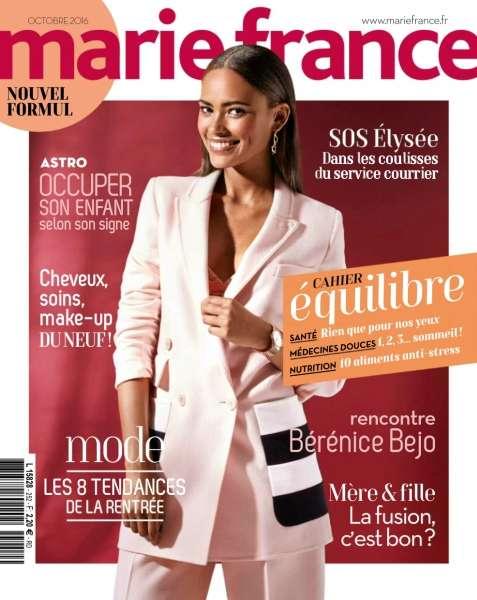 Marie France - Octobre 2016
