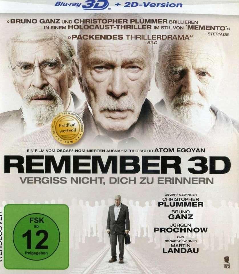 Remember (2015) ISO BDRA 3D 2D BluRay DD ITA DTSHD ENG Sub - DDNCrew