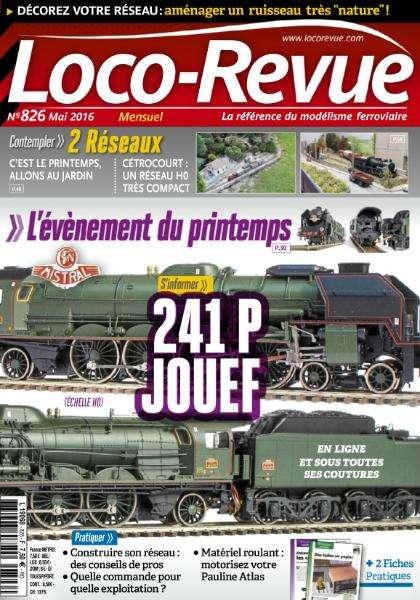 Loco-Revue 826 - Mai 2016