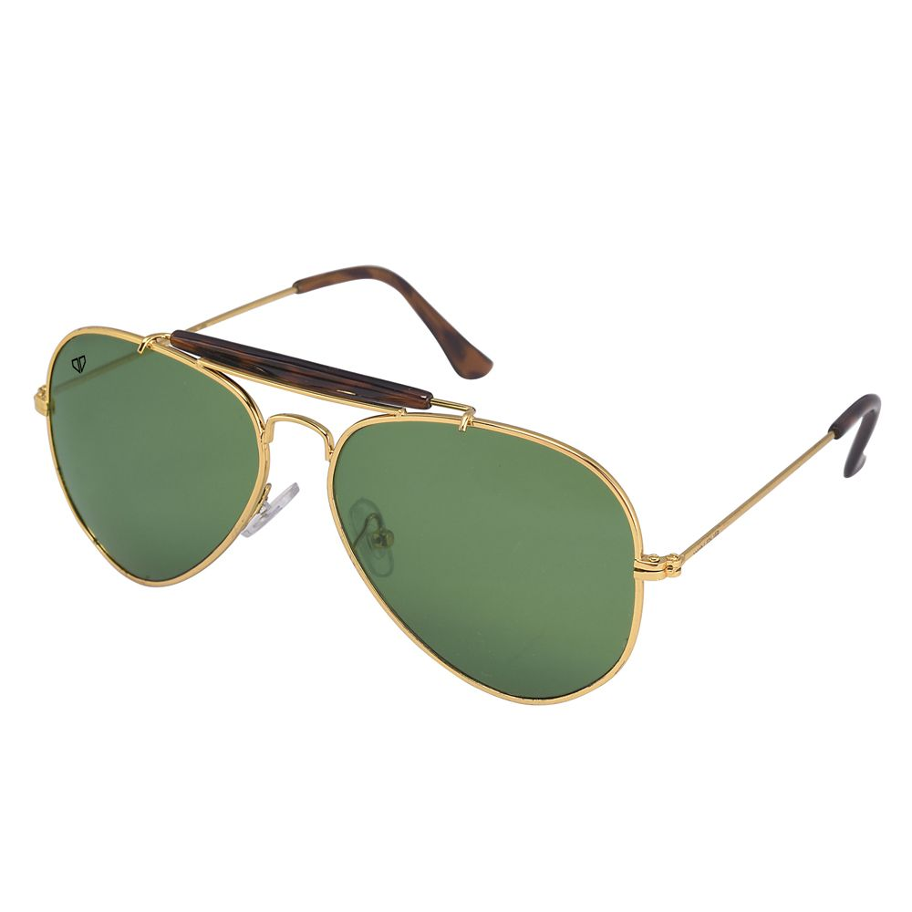 Walrus Avengers Green Color Unisex Aviator Sunglass - WS-AVG-040609