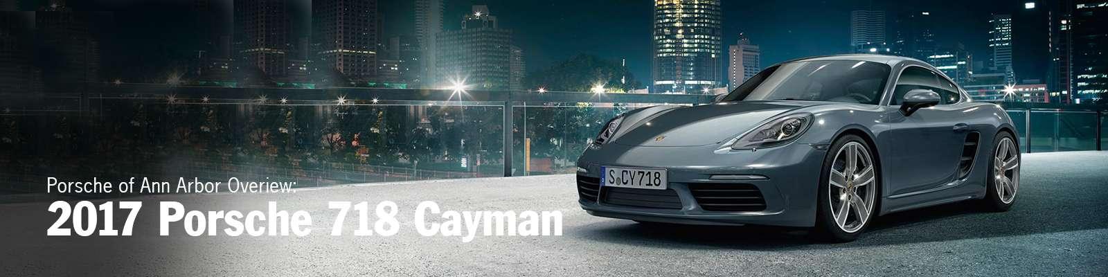 2017 Porsche 718 Cayman in Michigan