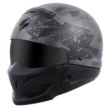 Scorpion Exo Combat Helmet - Ratnick Silver