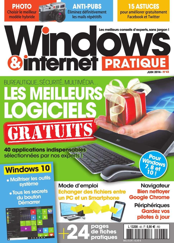 Windows & Internet Pratique 43 - Juin 2016