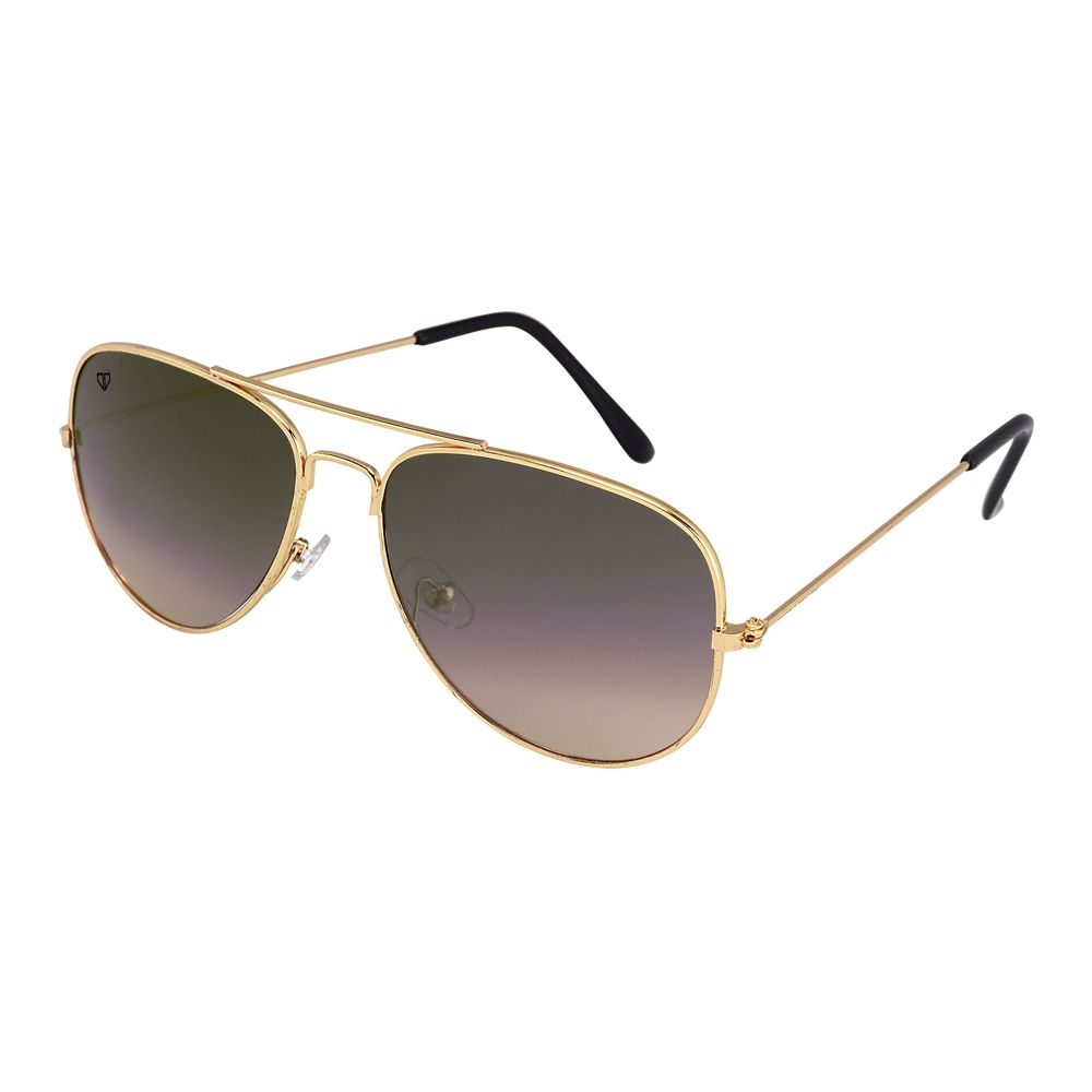 Walrus John Brown Color Unisex Aviator Sunglass - WS-JOHN-090606