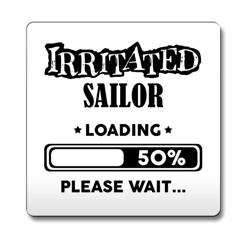 Black-Irritated-Sailor-Loading-Funny-Gift-Idea-Coaster-work-180