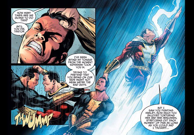 Its A Fact Few People Remember These Days But Originally Captain Marvel Was An Independent Personality From Billy Batson In Modern Times The Magic Of